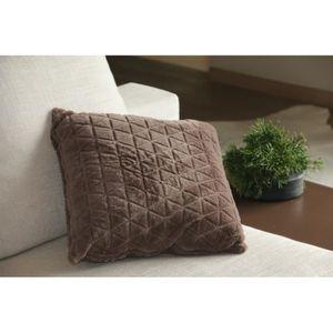 coussins en fausse fourrure achat vente coussins en. Black Bedroom Furniture Sets. Home Design Ideas