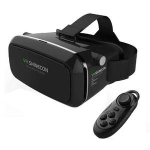 CASQUE RÉALITÉ VIRTUELLE VR Réalité virtuelle 3D Glasses