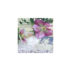 90fa464ac2f8 SERVIETTE JETABLE Serviettes 33x33  Nouveau  Christmas Rose