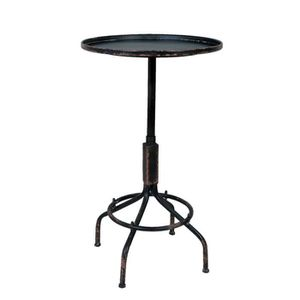 TABLE D'APPOINT Table Bistrot Industrielle