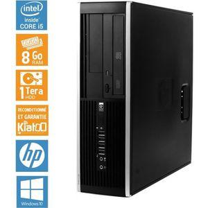 UNITÉ CENTRALE   Ordinateur de bureau HP ELITE 8100 core i5 8 go r