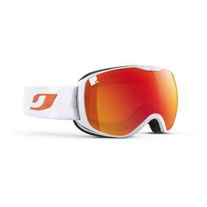 MASQUE - LUNETTES SKI JULBO Masque de Ski Pioneer Blanc et Orange
