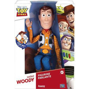 FIGURINE - PERSONNAGE TOY STORY - Figurine - Woody Parlant 40 Cm