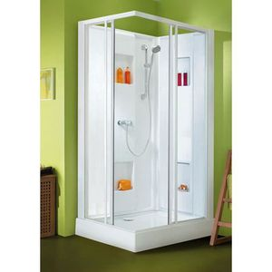 cabine de douche 80x100 achat vente cabine de douche. Black Bedroom Furniture Sets. Home Design Ideas