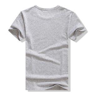 T-SHIRT Robot d'impression Tee Shirt Blanc Manche Court...
