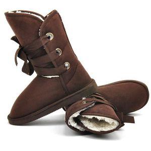 BOTTINE Bottine Chaussure de neige 5 couleurs Chaussure en