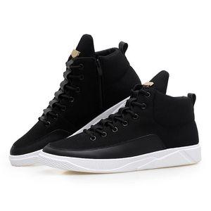 Basket Homme Run Masculines Respirante Automne Chaussures Noir KoFLWl2uzO