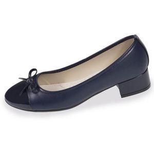 BALLERINE Ballerines femme à talon - Bleu - 93362-AAH-36