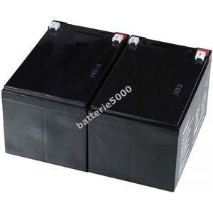 BATTERIE VÉHICULE Batterie gel-plomb Powery pour APC Smart-UPS 10...