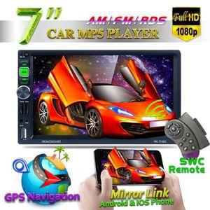 AUTORADIO RK-7159G 7'' HD Autoradio MP5 Lecteur Voiture Ster