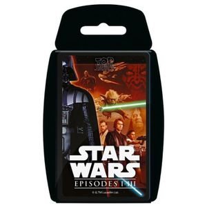 CARTE A COLLECTIONNER Top Trumps - Star Wars Episodes 1-3