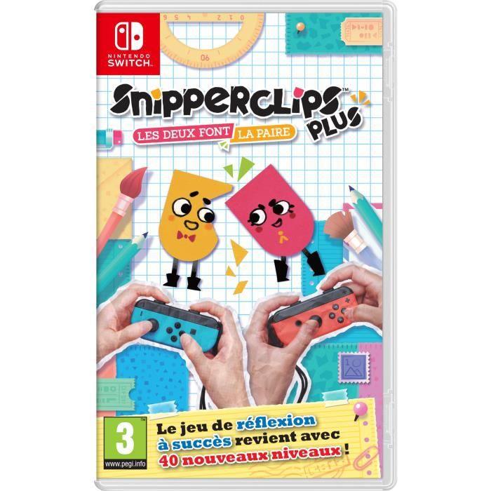 Snipperclips Plus : Les deux font la paire ! Jeu Nintendo Switch