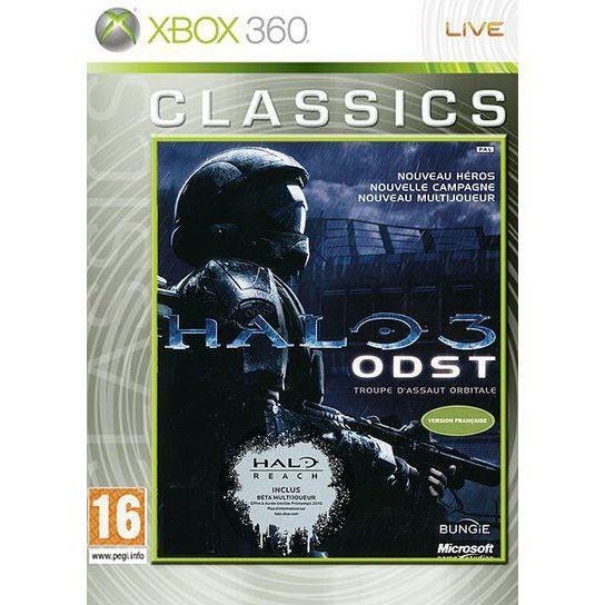 JEUX XBOX 360 Halo 3 Classics ODST Jeu Xbox 360