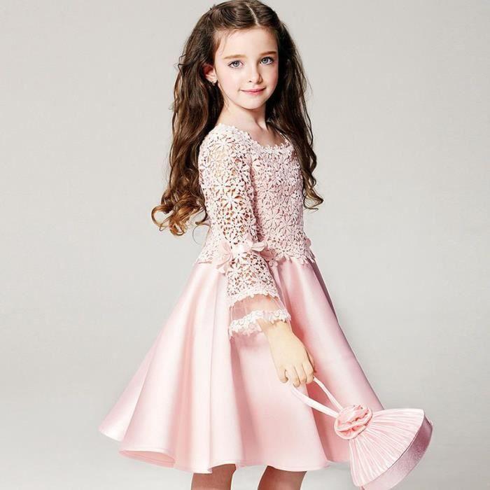 robe demoiselle d 39 honneur fillette robe d 39 enfant pour mariage robe courte d 39 enfant robe de. Black Bedroom Furniture Sets. Home Design Ideas