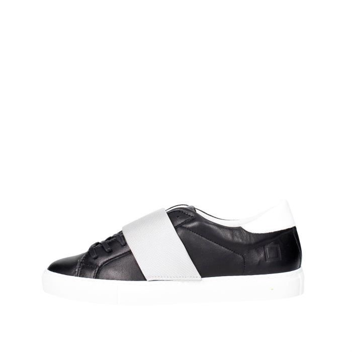 D.a.t.e. Sneakers Homme Noir, 45