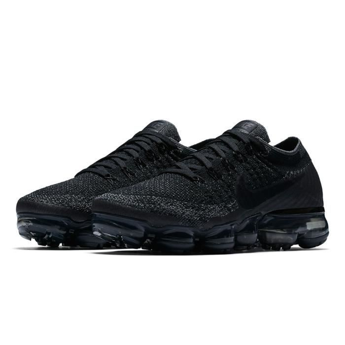 nike air vapormax flyknit moc black anthracite trainer homme