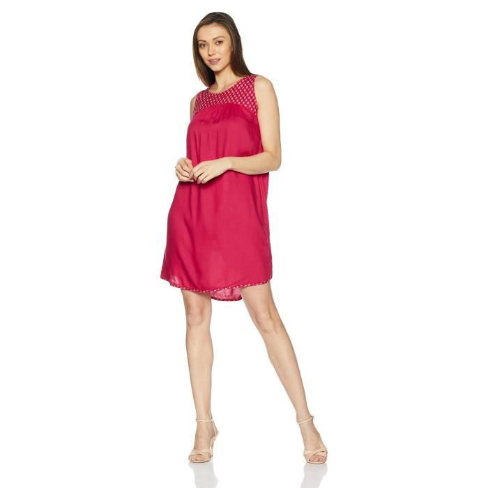 People Womens Rayon A-line Dress FBC2C Taille-40