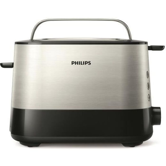 PHILIPS HD2637/90 Grille-pain Viva Collection - Noir - Achat ...