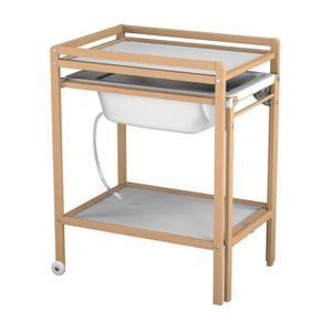 table langer achat vente table langer pas cher soldes d s le 10 janvier cdiscount. Black Bedroom Furniture Sets. Home Design Ideas