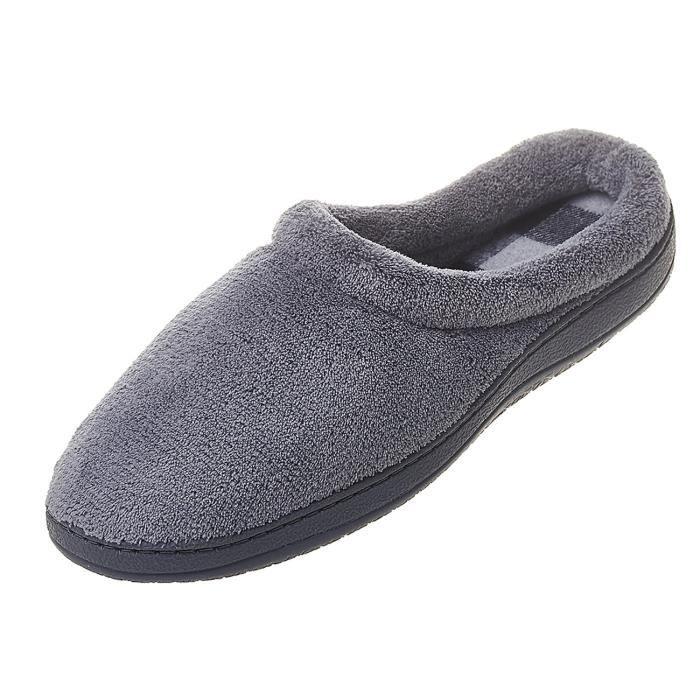 Coral Toison douce et chaude confortable Maison Mule chaussons VIL7N Taille-47