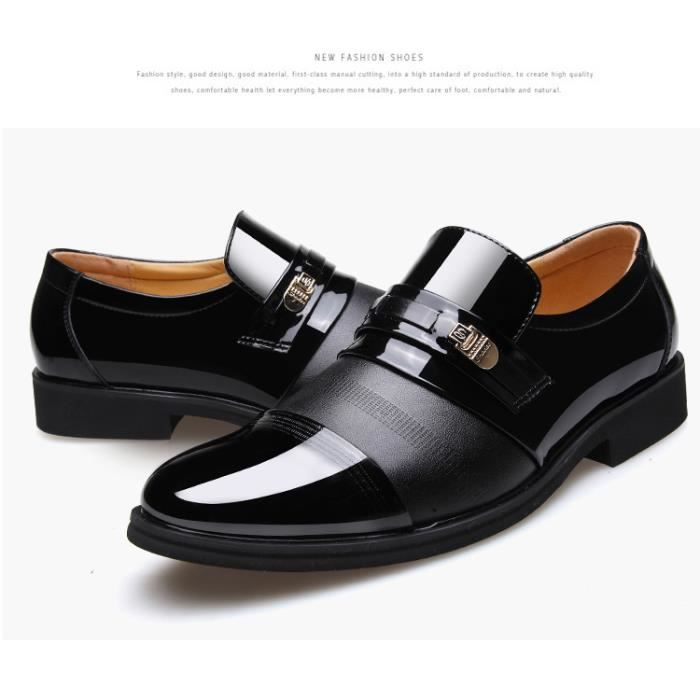 Mode Hommes Angleterre de style Chaussures en cuir Hommes Mocassins Oxford Chaussures Chaussures formelles respirantes chaussures 6LyxP