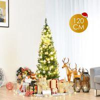 SAPIN - ARBRE DE NOËL Sapin de Noël Artificiel 120 cm - 150 Branches Arb