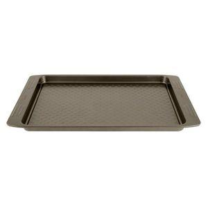 TEFAL EASY GRIP Moule plaque ? pâtisserie J1627114 26,5x36 cm marron