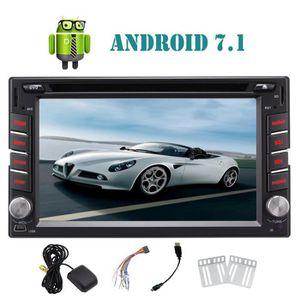 AUTORADIO Eincar Double Din Android 7.1 Système Nougat Quad