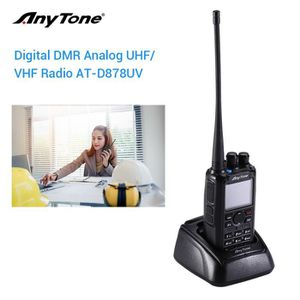 TALKIE-WALKIE AnyTone AT-D878UV GPS Radio Analogique/DMR Double