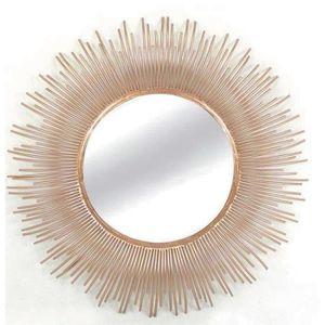 Miroir soleil achat vente miroir soleil pas cher for Miroir soleil metal
