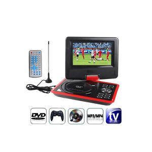 LECTEUR DVD PORTABLE Lecteur Dvd Portable - NO-NAME - DVD-Console rouge