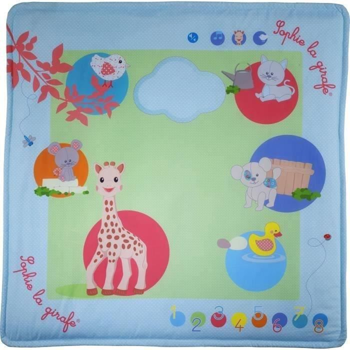 SOPHIE LA GIRAFE Touch & play mat'