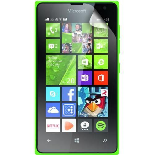 BIGBEN Lot de 2 protèges-écran pour Nokia Lumia 435 - Transparent