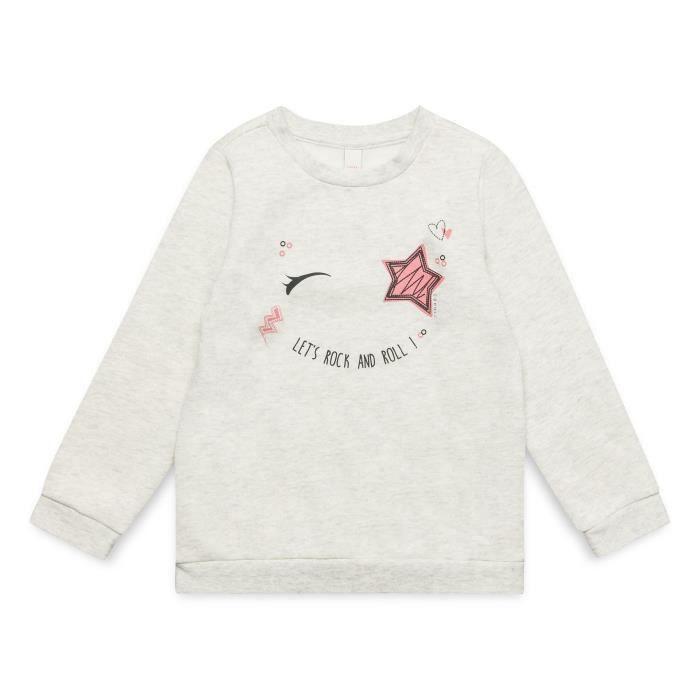 ESPRIT Sweatshirt Gris Chiné Enfant Fille