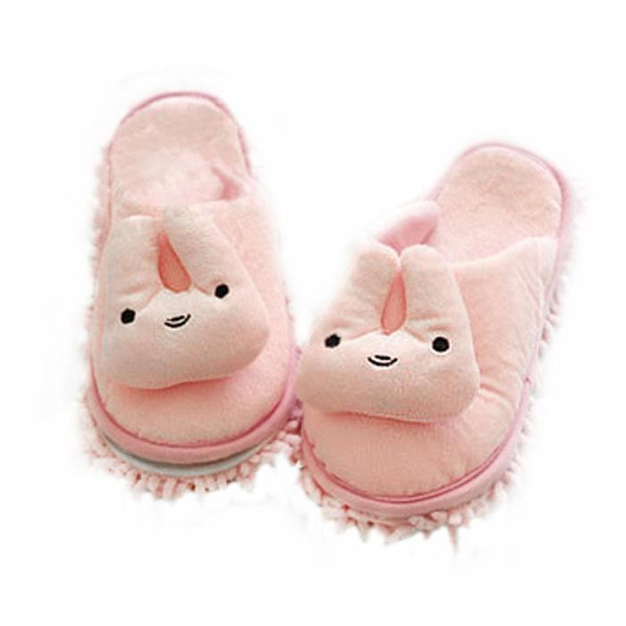 Belle microfibre animale (Femmes) Magie nettoyage chaussons-Tiger lurll