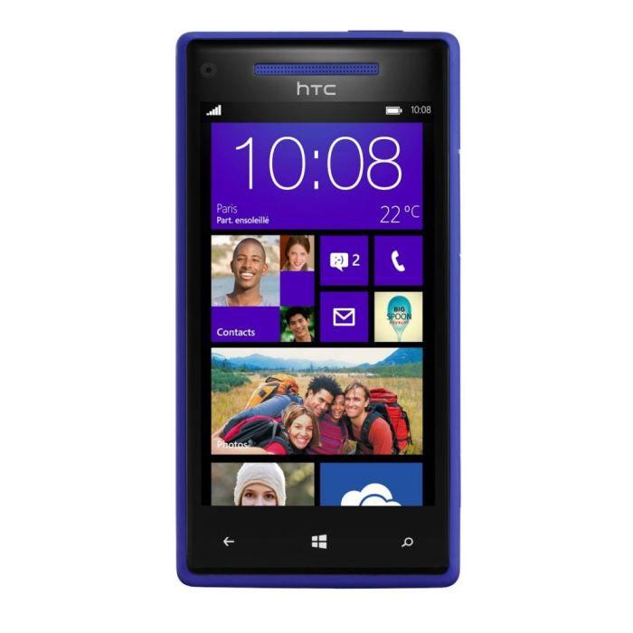 htc windows phone 8x bleu achat t l phone portable pas. Black Bedroom Furniture Sets. Home Design Ideas