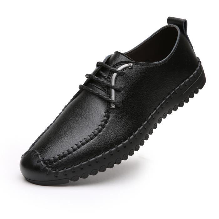 De sport chaussures en cuir des hommes