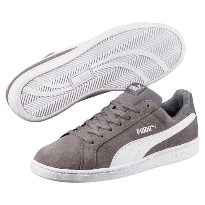 8d9bd8a98bdc3 Chaussures homme Baskets Puma Smash Sd Gris Gris - Achat   Vente ...