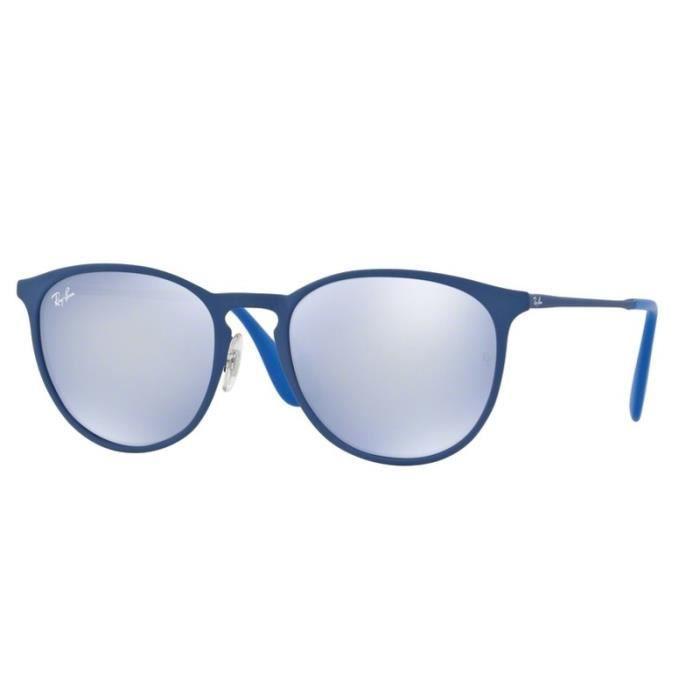 e56a212520 Lunettes de soleil Ray-Ban RB3539 90221U Rubber Electric Blue ...