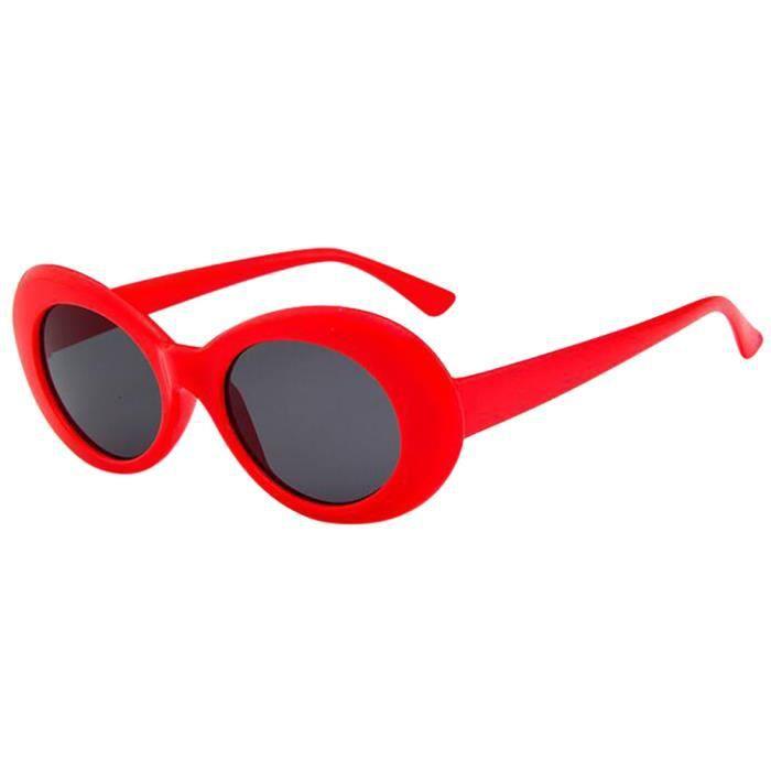 Deuxsuns®Retro Vintage Clout lunettes lunettes de soleil unisexe rappeur ovales lunettes grunge lunettes@zf332