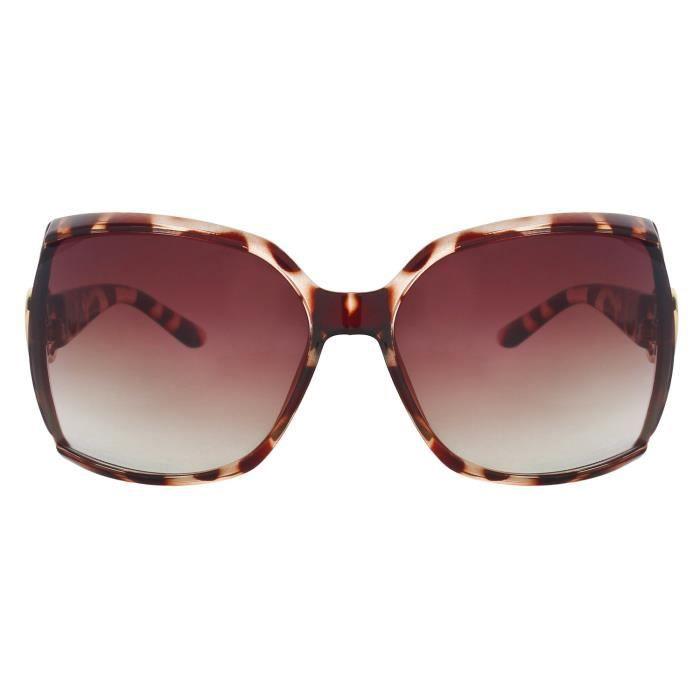 Brown Lunettes de soleil 321 oversize X90RO