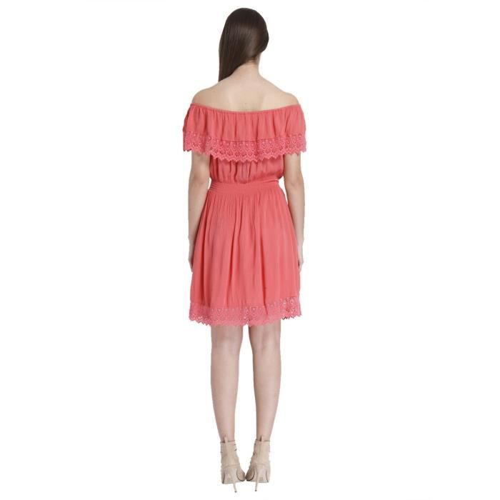 Only Womens A-line Cotton Mini Dress ZXV52 Taille-42