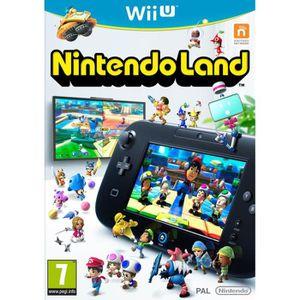 JEU WII U Nintendo Land (12 jeux inclus) Jeu Wii U