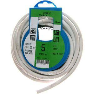 cable electrique achat vente cable electrique pas cher cdiscount. Black Bedroom Furniture Sets. Home Design Ideas