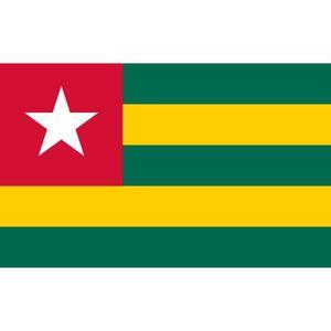DRAPEAU - BANDEROLE Drapeau Togo Togolais
