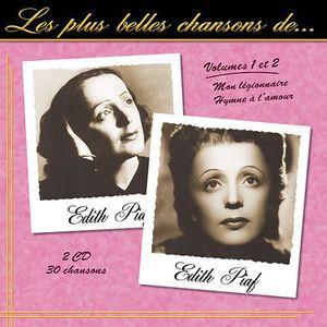CD VARIÉTÉ INTERNAT CD LES PLUS BELLES CHANSONS D'EDITH PIAF - VOLUMES