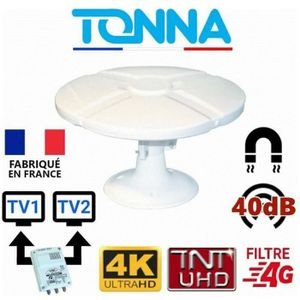ANTENNE RATEAU Antenne TNT omnidirectionnelle 35 db , camping car