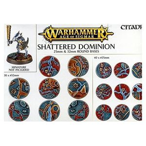 JEU SOCIÉTÉ - PLATEAU Warhammer Age of Sigmar Shattered Dominion 25mm &