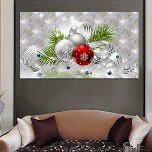 TABLEAU - TOILE Décoration de Noël Toile pour Tableau Panneaux Mur