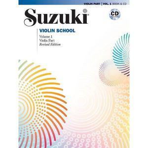 PARTITION Suzuki Violin School 1 + CD (Revised), de Dr. Shin